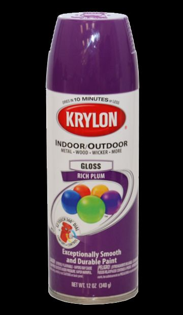 New Krylon 51914 Rich Plum Aerosol Spray Paint Can