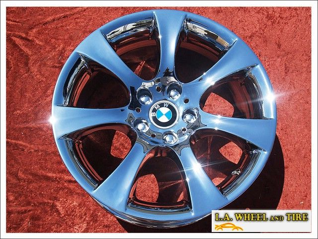 NEW 18 BMW 545I 550I 535i E60 OEM CHROME WHEELS RIMS EXCHANGE 59475