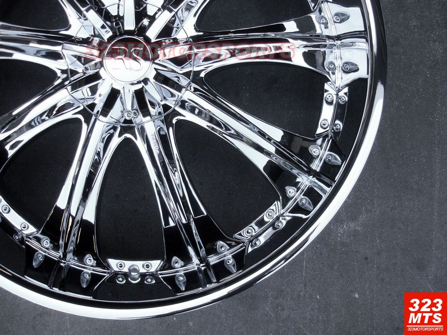26 Rims Tire Wheels Chevy Expedition RSW33 Yuko