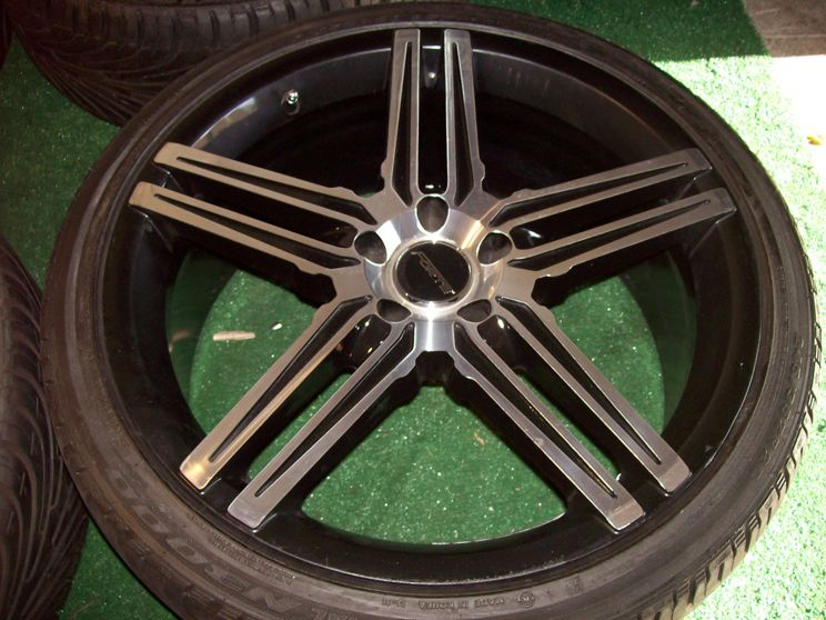 Wheels Tires Black Mercedes s CL Class S500 S430 S420 S320 CL500 220